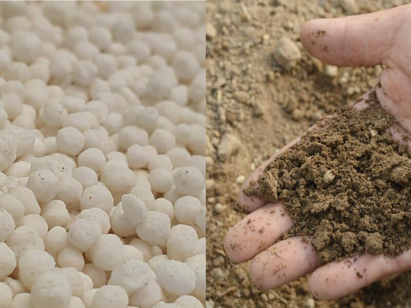 有機配合肥料のイメージです