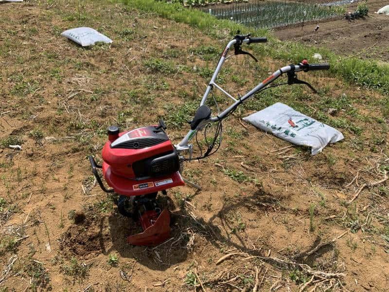 耕運機の写真