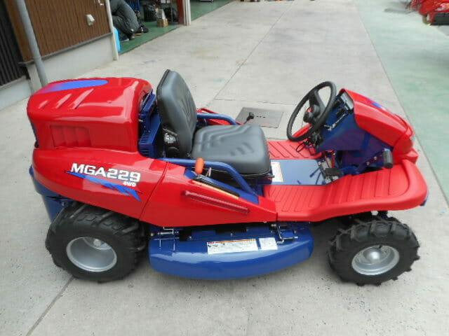 乗用草刈機MGA229