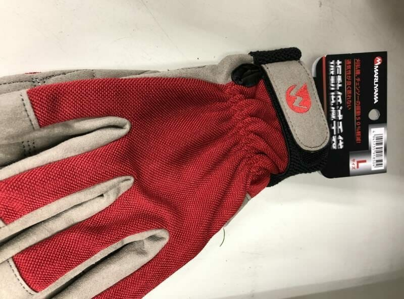 チェンソー手袋の写真
