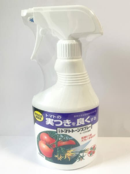 植物成長調整剤、日産化学 トマトトーンスプレーの画像です。