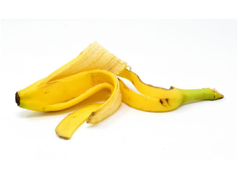 バナナの皮の画像です。