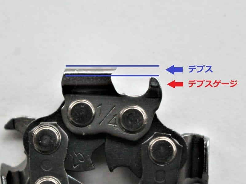 【画像】チェンのシャープさを回復しリセットするためには、チェンソーデプスを適切に保つことが重要
