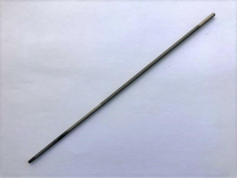 【画像】平ヤスリは、チェーンソーデプスを調整する用途で使える工具