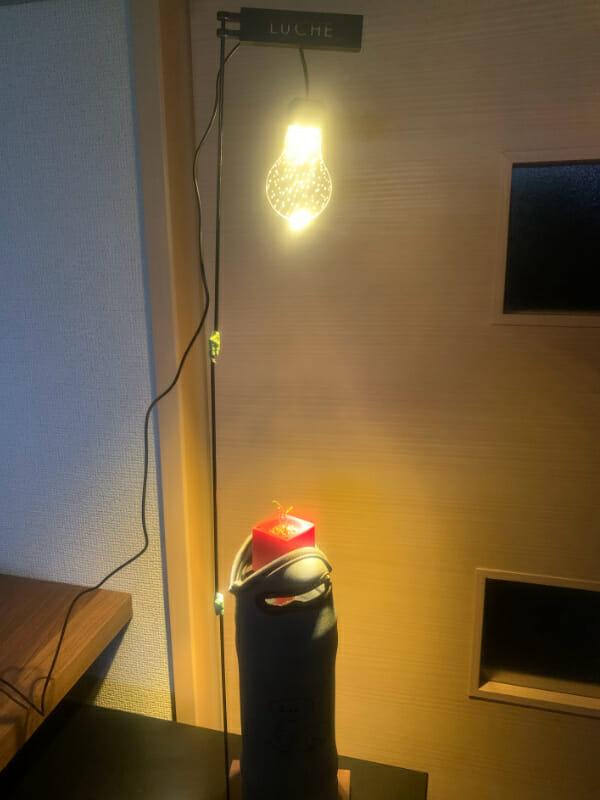 室内栽培用のライトの画像です。