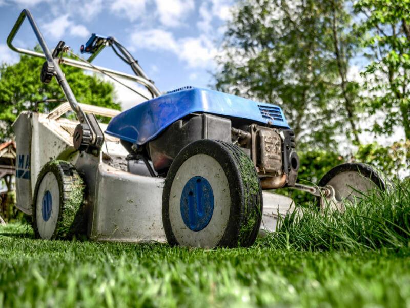 芝刈り機の画像です。